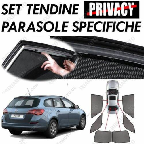 PRIVACY SHADES REAR WINDOWS 18537 FOR OPEL ASTRA J SPORTS TOURER 11//10/>02//16