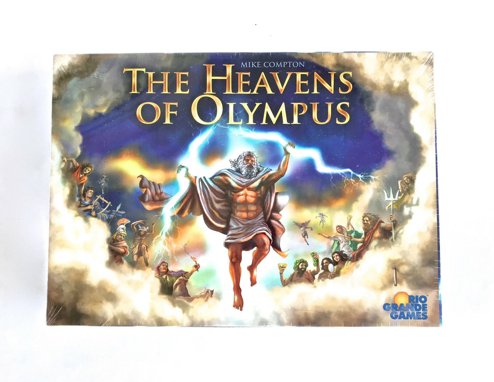 The Heavens of Olympus board game Rio Grande Games Brand New