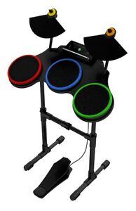 XBox 360 Guitar Hero DRUM KIT SET Rock Band 1 2 3 beatles AC/DC Lego Green day