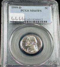 1999-D 5C Jefferson Nickel