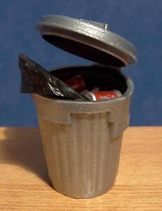 1/12 Maison De Poupées Miniature Poussière/poubelle Poubelle Poubelle Inc. Rubbish Lgw-afficher Le Titre D'origine