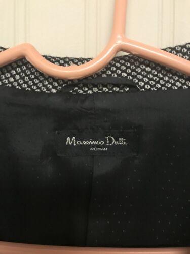 30 Lana donna Tweed misto Dutti cashmere 40 seta Giacca Massimo Blazer WqHSZ4qw