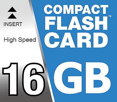 Speicherkarte 16 GB Compact Flash High Speed 150x Karte CF Digital Kamera