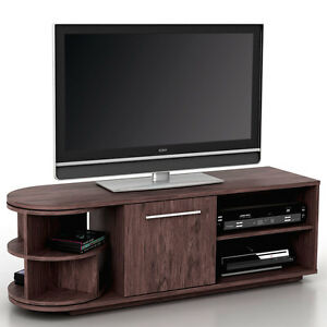 Mobile porta tv tavolino salotto arau t729 mdf 40x120x45cm legno scuro ebay - Mobili porta tv angolari ...