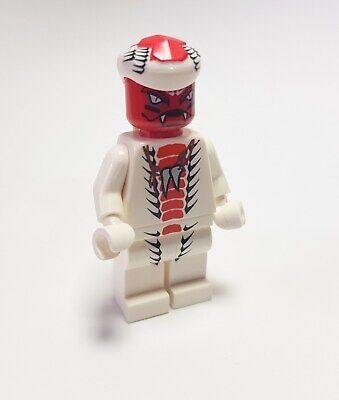 Lego Ninjago Figur Snappa Schlange weiß aus dem Set 9442