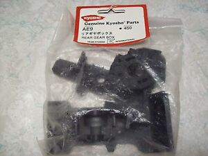 Vintage Kyosho Rc Car Parts Ae9 Rear Gear Box Plastic Parts Ebay