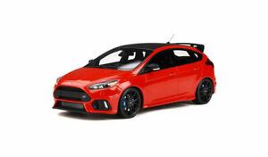 Nuevo-Ford-Focus-RS-Rojo-Otto-MK3-Edition-1-18-Escala-Modelo-de-Resina