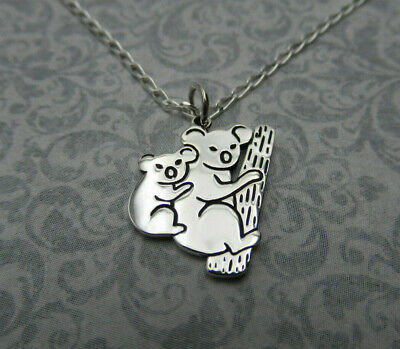 mama Necklace Mothers Day Gift Mother and Baby Koala Charm or Necklace Mom Necklace Koala Animal Pendant