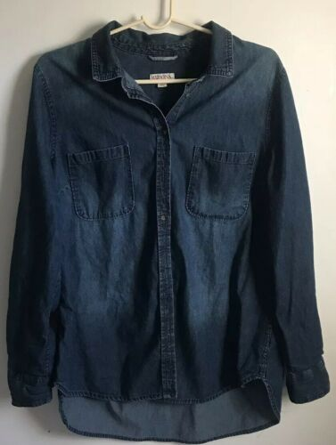Merona Denim Overshirt XL