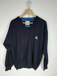 NAVIGARE-MAGLIONE-VINTAGE-in-LANA-Cardigan-Pullover-MADE-in-ITALY-Tg-M-Uomo