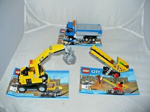 LEGO-CITY-60075-EXCAVATOR-AND-TRUCK-INSTRUCTION-BOOKS