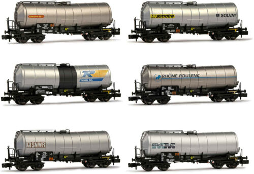 Arnold HN6397 Güterwagen Kesselwagen Set 6-tlg SNCF EP IV-V neu