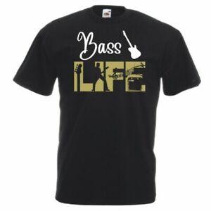 Bass-Life-Guitar-T-Shirt-Small-5XL