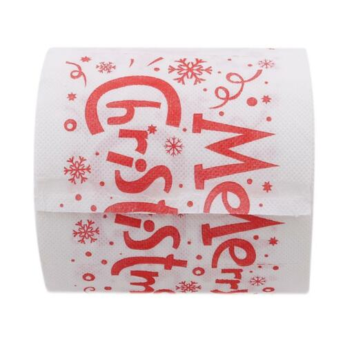 Christmas Pattern Series Roll Paper Prints Christmas Toilet Paper Y2