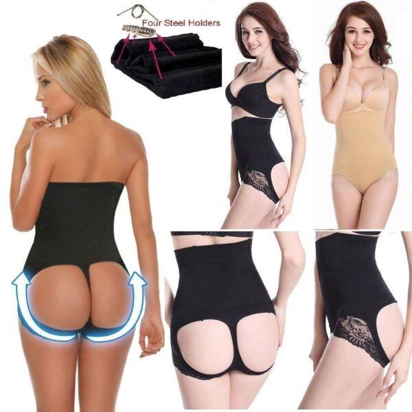 Sexy Po PUSH UP Slip Panty Unterhose Mieder Body-Former Hotpants Contur Polster