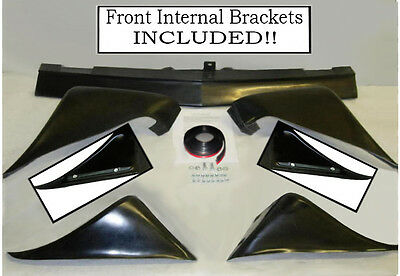 1979-1981 Pontiac Firebird TA Trans-Am 5 piece FENDER WHEEL FLARES SPOILER SET
