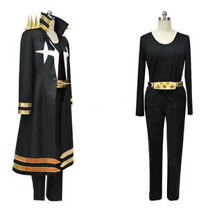Kill LA Kill Uzu Sanageyama Three-star Black Uniform Clothing Cosplay Costume