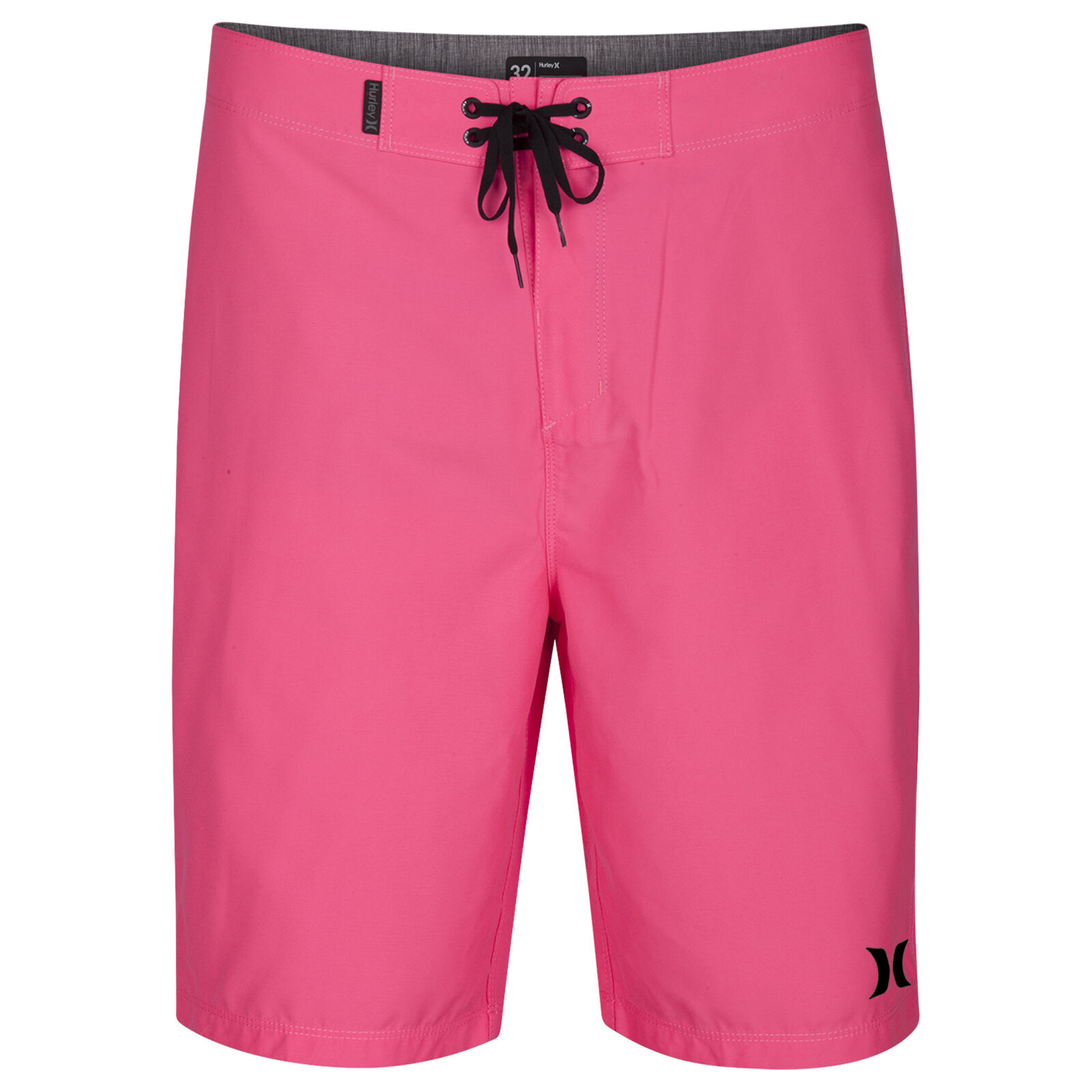 Hurley Icon Mid Length Boardshorts in Hyper Pink