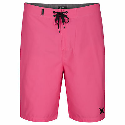 c531d16500 Hurley Icon Mid Length Boardshorts in Hyper Pink | eBay