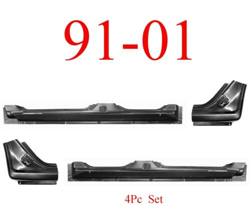 91 01 Ford Explorer 4Pc Extended Rocker /& Dog Leg Kit 4 Door OEM Type