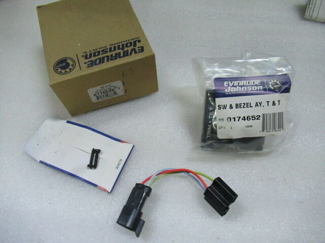 omc wiring harness boat parts ebay 176539 omc dash mounted trim tilt switch kit for sale online ebay  176539 omc dash mounted trim tilt