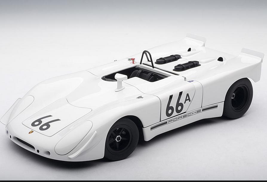 Célébrez Noël, accueillez le Nouvel An An An et vous le rend! Porsche 908/2 S.MCQUEEN Holtville 66A  87073  1/18 AutoArt   Nouveau Produit  c1d2be