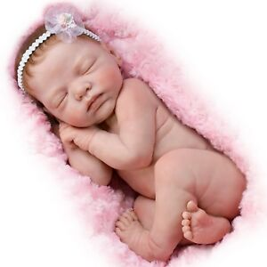 Ashton-Drake-Bundle-Of-Love-Lifelike-Newborn-Baby-Doll-By-Marita-Winters-NEW