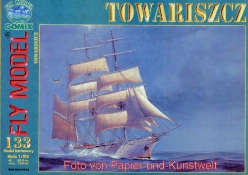 "1:100 FLY Model 133 Segelschulschiff /""Towariszcz/"""