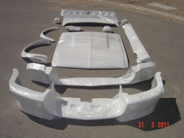 1967 1968 Ford Mustang Coupe Eleanor Style Fiberglass Body Kit