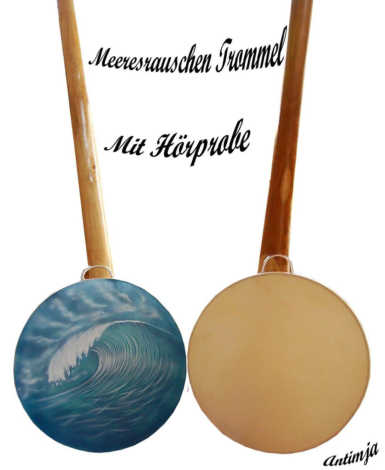 Ocean Drum Meerestrommel Wellentrommel Drum Meeresrauschen Meditations Trommel