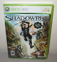 Shadowrun Sealed Microsoft Game Studios Xbox 360 Exclusive Shooter