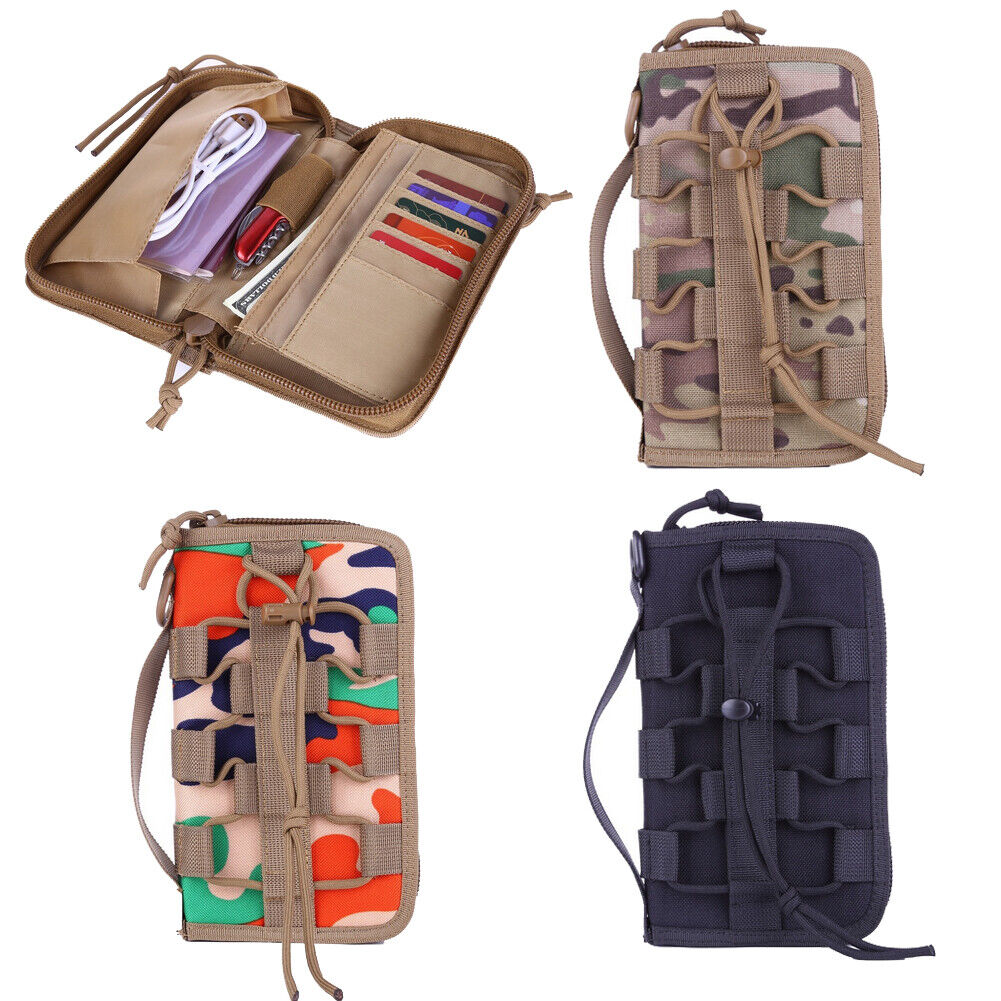 Tactical Men Wallet Money Credit Card Holder Military Cell Phone Bags Handbag US