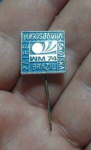 YUGOSLAVIA-BRAZIL-SCOTLAND-ZAIRE-GERMANY1974-WM-74-FIFA-Football-World-Cup-pin