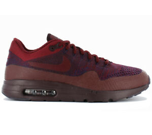 best cheap e980b a8d33 Image is loading Nike-Air-Max-1-Ultra-Flyknit-Shoes-Men-