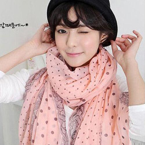 Fashion Damen Chiffon Schal Weich Wrap Lange Tuch Schals Stola Cover Up