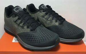 88903be36100 Nike Mens Size 8 Zoom Winflo 4 Anthracite Grey Black Running Shoes ...