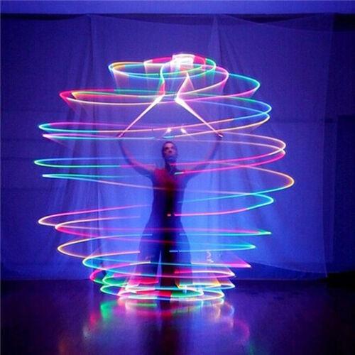 schöne hell leuchtende Wurf LED Bälle Handball Spiel Spielzeug Geschenk Suprem