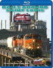 Rails Around St Louis Alton & Southern Amtrak BNSF CSX NS up Blu-ray KCS