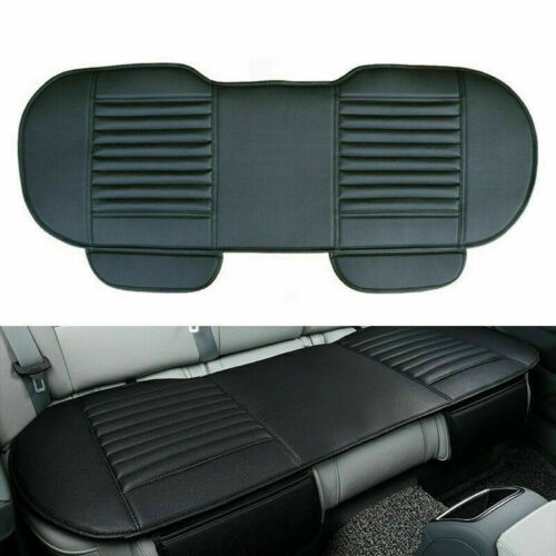 Beige Car Rear Seat Cover Cushions PU Leather For Interior ...