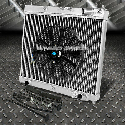2-Row Performance Racing Aluminum Cooling Radiator For 04-07 Scion xB xA 1.5L L4