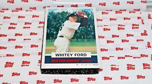 WHITEY FORD #12 2021 Throwback Thursday TBT #4 1961 Topps Bazooka Baseball