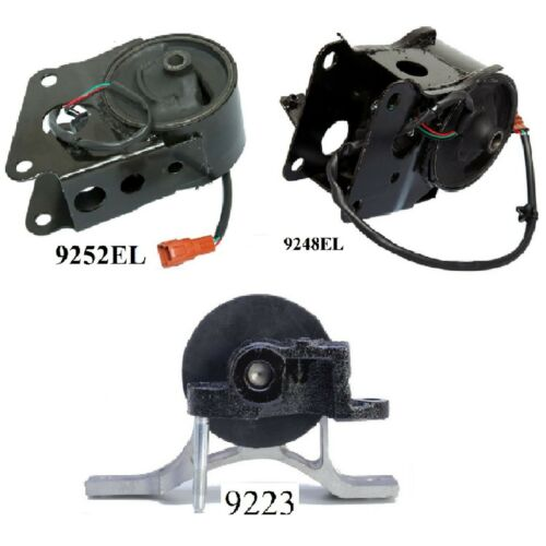 3 PCS FRONT /& REAR MOTOR MOUNT FOR 2007-2008 Nissan Maxima 3.5L with Sensors
