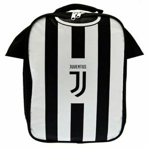 new style bbd5f 88d1d Details about JUVENTUS FC KIT INSULTED LUNCH BAG SHIRT FOOTBALL SCHOOL KIDS