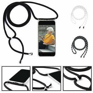 Handykette zum umhängen Schutzhülle Handy Hülle Halskette Schnur Case Kordel TOP