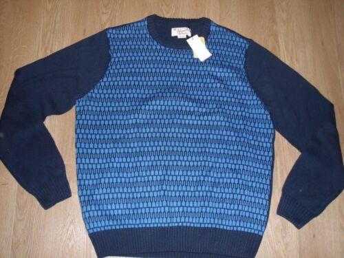 lavorato maglia da Blue uomo originale girocollo Navy Penguin Maglione Nuovo Xl a Z5xH4qwnC