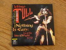 Jethro Tull:Nothing is Easy Live Japan CD Mini-LP VACM-1256 Mint (ian anderson Q