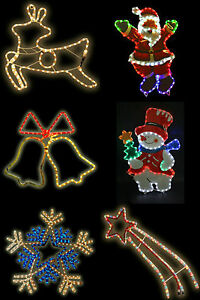 CHRISTMAS-LARGE-ROPE-LIGHT-FESTIVE-DECORATIONS-MULTI-COLOUR-INDOORS-OR-OUTDOORS