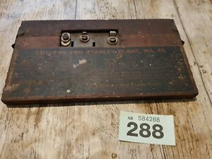 Set of Cutters for Stanley Plane No 45 oringnal box, used  set 1