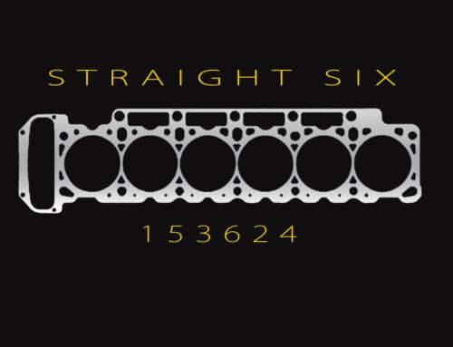 6 Zylinder T shirt motor bmw e30 e36 e46 e92 supra gt-r skyline r34 etc