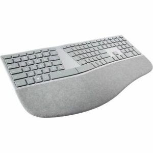 Microsoft Surface Ergonomic Wireless/Bluetooth Keyboard (English) Alcantara Gray